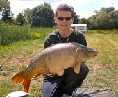 My mate Sam with a 20 Lbs