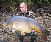 Mirror carp from Saint-Cassien