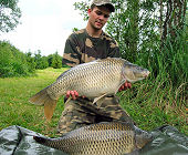 Common carps - 20.5 Lbs and 20.9 Lbs